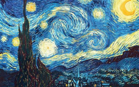 pattern artist famous van gogh s famous the starry night had a hidden treasure