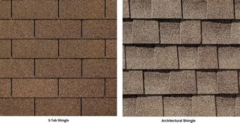 roof suggestion architectural shingles   tab shingles