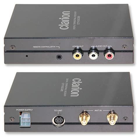 Tv Tuner Outboard Clarion Dtx502e Dvb T Digital Tv Tuner Steuerbar F 252 R Nx501e Nz501e Nz502e Vx402e