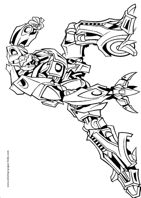 free coloring pages of transformers jazz