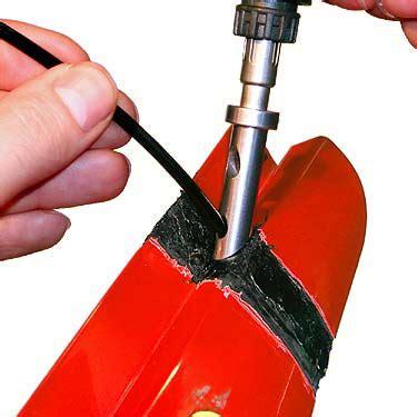 Motorradverkleidung Flicken by Orbi Tech Kunststoff Reparatur Set Kunststoffreparatur
