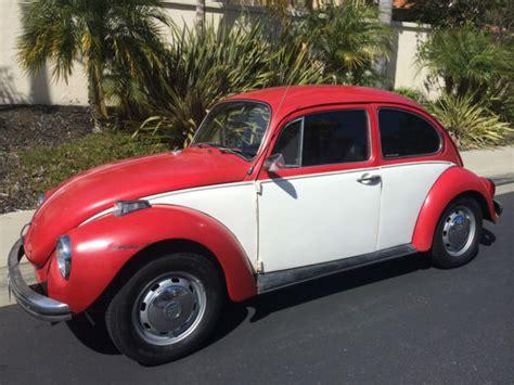seller  classic cars  volkswagen beetle classic redwhiteblack