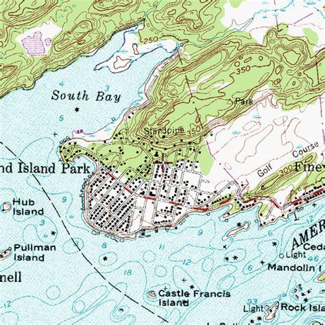 map of thousand islands ny thousand island park census designated place ny