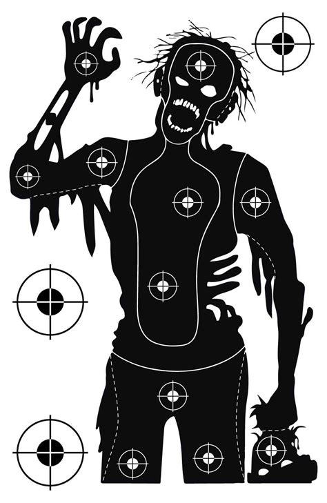 printable zombie gun targets мишени для стрельбы из пневматического оружия печать