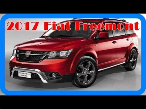 fiat freemont 2017 2017 fiat freemont redesign interior and exterior