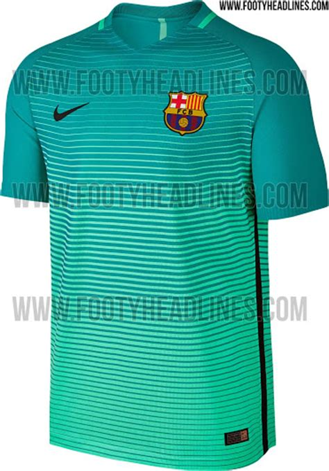Jersey Manchester City 3rd 1617 Go Barcelona 16 17 Third Kit Released Footy Headlines
