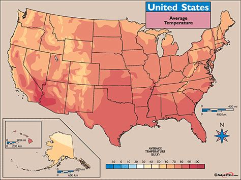 united states map and temperatures average temperature map july map by maps from maps