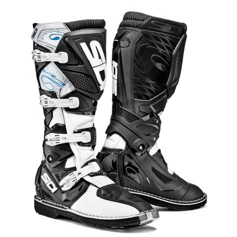 white biker boots sidi motorcycle boots sidi xtreme white black boots from