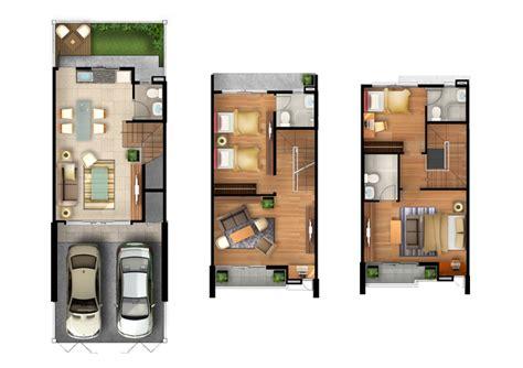 3 Story Townhouse Floor Plans housetype town avenue srinagarindra town house by sansiri