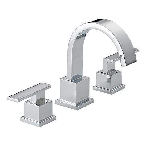 Delta Widespread Faucet by Delta 3553lf Vero Two Handle Widespread Lavatory Faucet