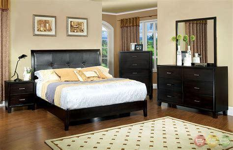 contemporary platform bedroom sets enrico i ex contemporary espresso platform bedroom set