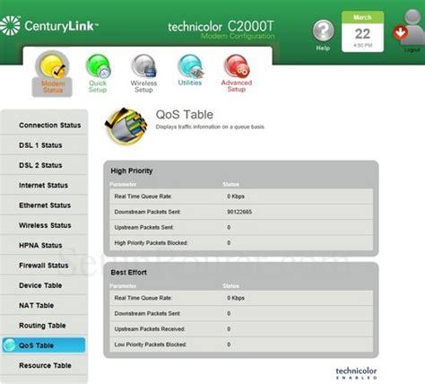 resetting wifi password centurylink technicolor c2000t centurylink screenshots