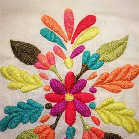 embroidery flores buen d 237 a bordado flores embroidery miercoles
