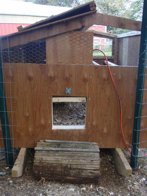 Chicken Door by Automatic Chicken Coop Door Conversion Phase Two