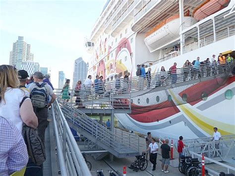 Ship Boarding Experience Of A Sea Cruise