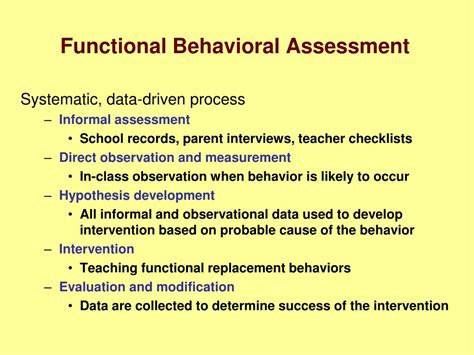 functional behavior assessment functional behavior assessment of academic pictures to pin