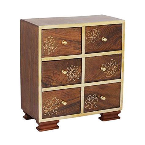 Wooden Jewellery Drawers by Compare Price To Six Drawer Jewelry Chest Afscstore Org