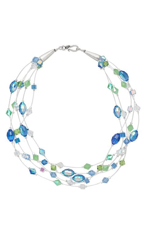 Jewelry Design   Multi Strand Necklace with Celestial