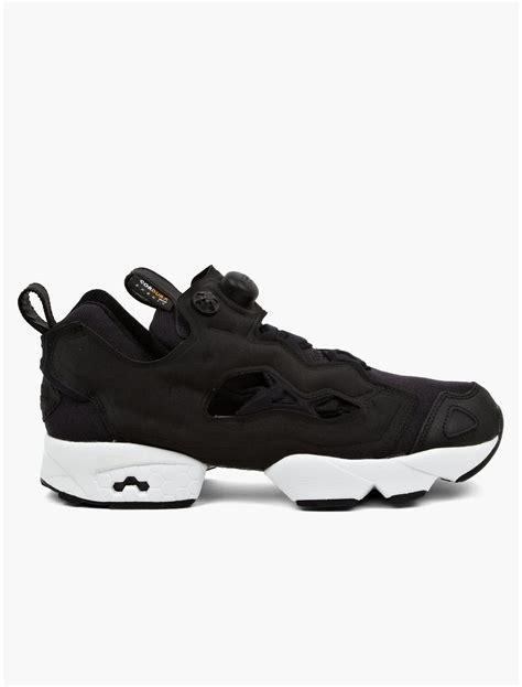 reebok black sneakers reebok mens fury cordura sneakers in black for lyst