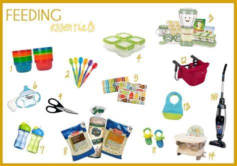 12 days of baby stuff feeding essentials