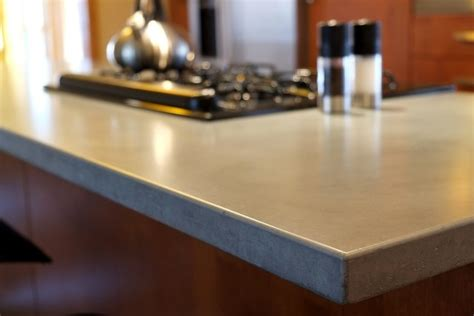 concrete counter tops contemporary kitchen countertops