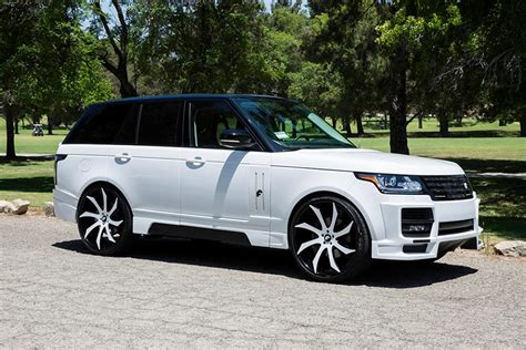 modified 2015 range rover custom range rover vogue by forgiato