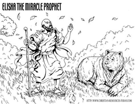 free bible coloring pages elisha free bible coloring pages bible story pages printable