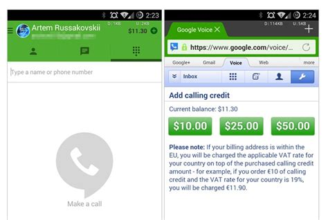 hangouts app android hangouts android app updated to v2 4 enbales voice call credit display and more