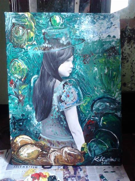 Acrylic Malang kevin villar cubinar of black art s serendipity