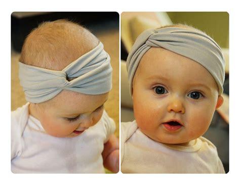 tutorial menjahit turban baby diy baby turban headband www imgkid com the image kid
