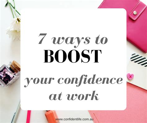 7 Ways To Improve Your Confidence by 7 Ways To Boost Your Confidence At Work Confident