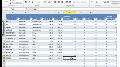 inventory dashboard excel excel inventory management