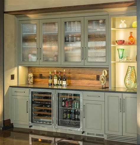 Kitchen Cabinet Chicago dishy basement wet bar cabinets with barstools