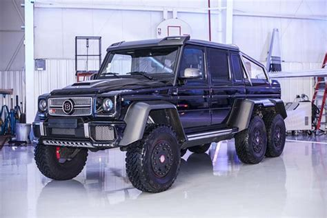 mercedes g class 6x6 this mercedes brabus g63 6x6 could be yours in the u
