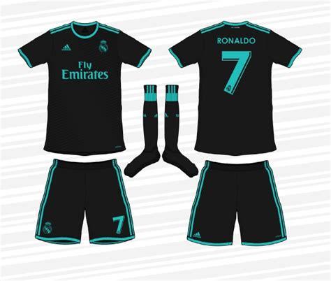Jersey Real Madrid Away 2017 18 design football category football kits image