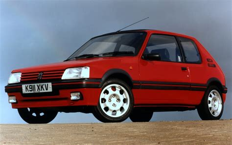 pug 205 gti pug1off creates updated peugeot 205 gti 195 the driven