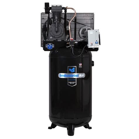 industrial air 80 gal stationary electric air compressor iv5038055 the home depot
