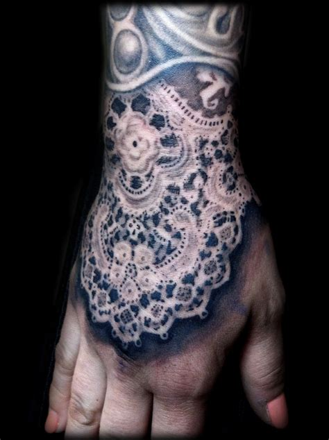 lace sleeve tattoo lace maximilian