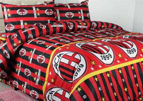 Bedcover Tanpa Sprei Katun Jaxine Single Ac Milan 160x2 Limited sprei dan bedcover ac milan chick17