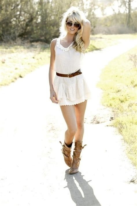 country dresses to wear with boots 18 best images about country dresses with cowboy boots on