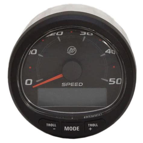 boat speedometer kit mercury boat speedometer smartcraft 79 8m0059081 digital