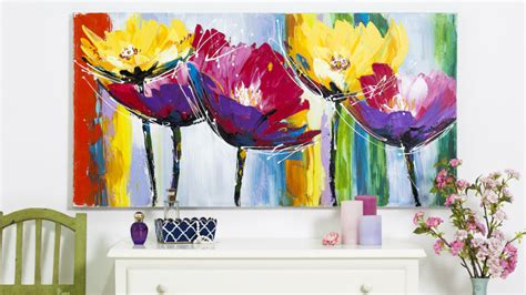 quadri astratti fiori quadri con fiori natura e romanticismo in casa dalani e