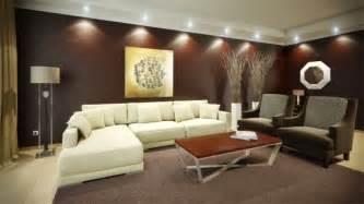 paredes de salas color chocolate salas con estilo