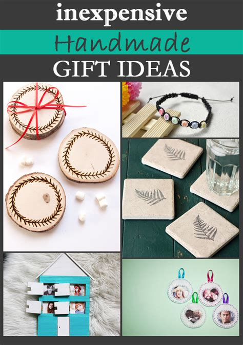 Inexpensive Handmade Gift Ideas - inexpensive handmade gift ideas