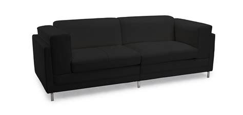 pelle per divani divano divano nero pelle divano per ufficio a 2 posti