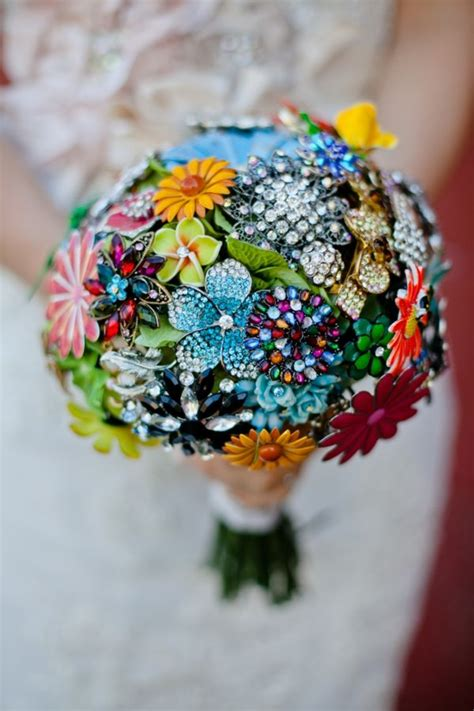 Handmade Brooch Bouquet - best 20 brooch bouquets ideas on wedding