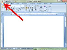 Word Office 2007 How To Set Up Autosave On Microsoft Word 2007 14 Steps