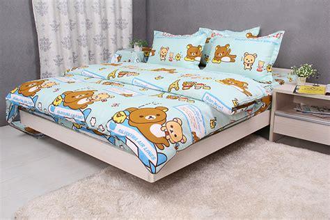 rilakkuma bed aliexpress com buy rilakkuma bedding set twin full