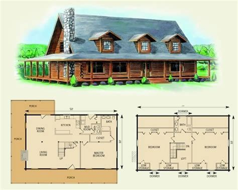 charlottesville log home and log cabin floor plan by darcy