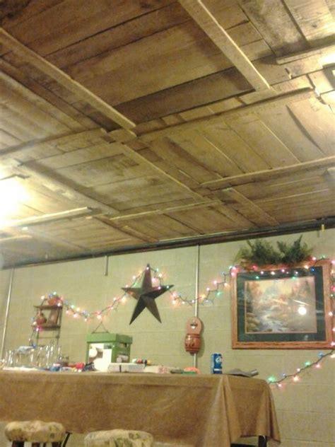 cool basement ceiling ideas